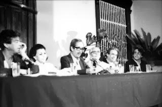 Generación del 50 en la Bienal de Poesía de Trujillo. (Década del 80)