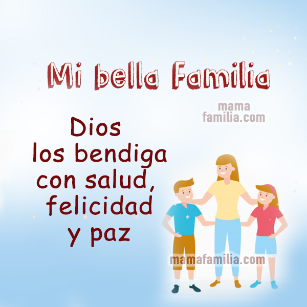 tarjeta imagen cristiana con bendiciones para mis hijos mi familia mery bracho mama familia