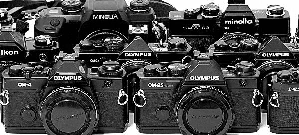 Olympus OM SLR Cameras