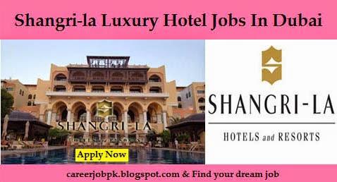 Jobs in Shangri-La Hotel Dubai