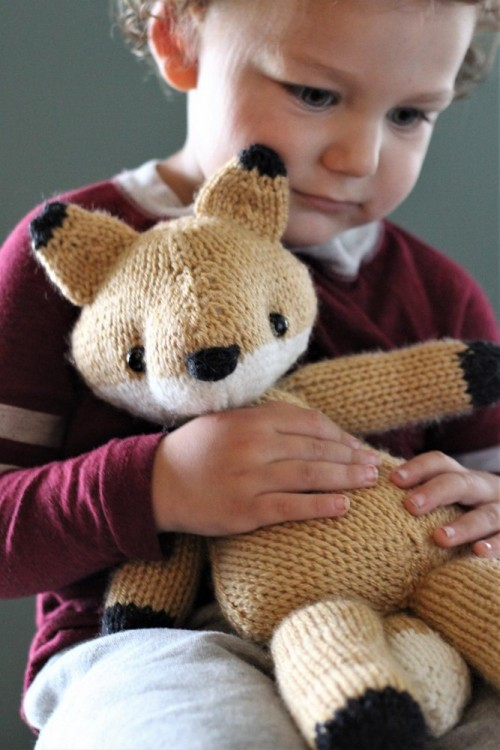 Emerson the Fox - Knitting Pattern