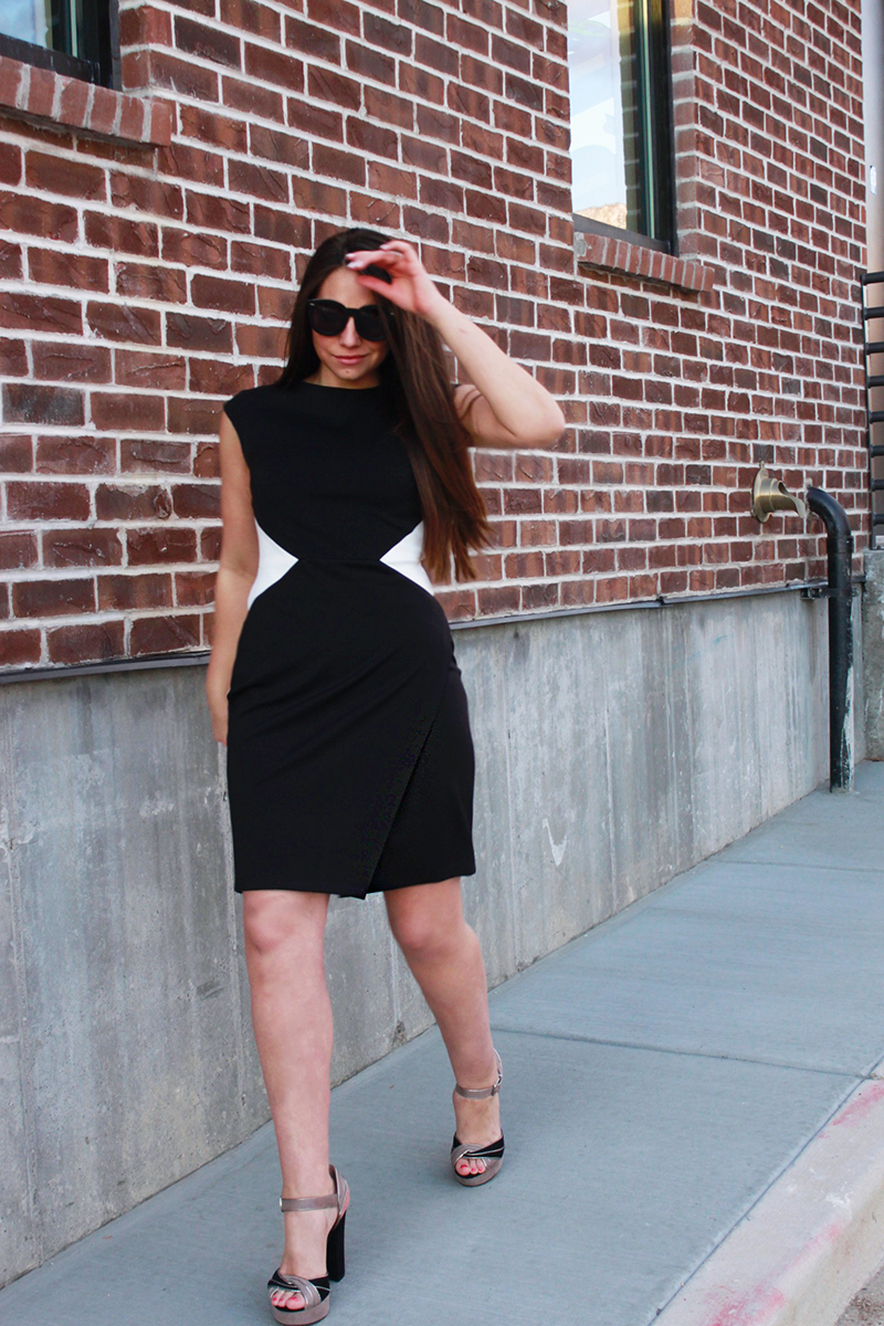 dress to make waist look smaller, style blog