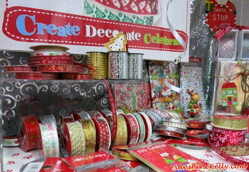 Create, Decorate & Celebrate Christmas with Spotlight Malaysia, Spotlight Malaysia, Spotlight, Christmas Decoration, Christmas Essentials, Spotlight Christmas, party packs, party decors, party needs