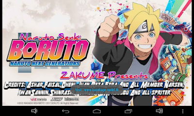 Naruto Senki Boruto MOD Unlimited Money Coin Full Version Apk Terbaru