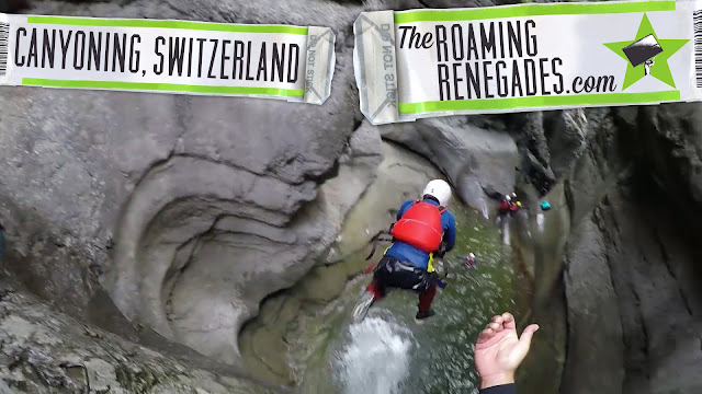 Canyoning in the epic Chli Schliere, SWITZERLAND!