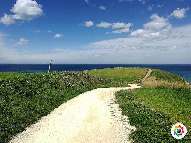 Punta Aderci e a Punta Penna