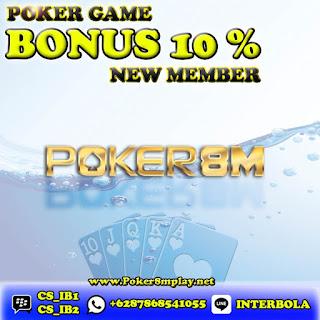 Poker8M Bandar Poker Online Terpercaya  ZkGDk35