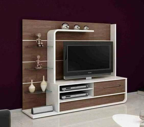 Latest 40 Modern Tv Wall Units Cabinet Designs For