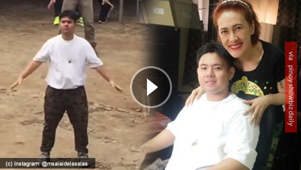 Aiai Delas Alas shares video of Jiro Manio dancing as part of drug rehab program