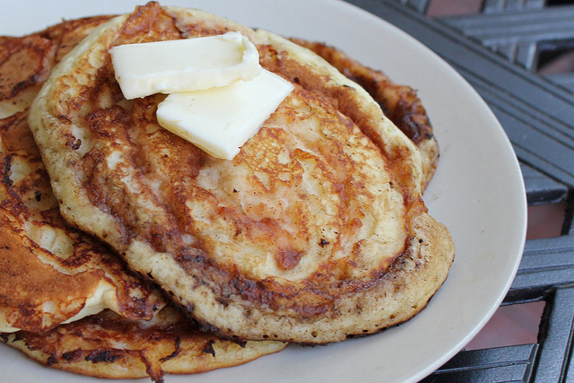 Apple Butter Swirled Pancake Recipe
