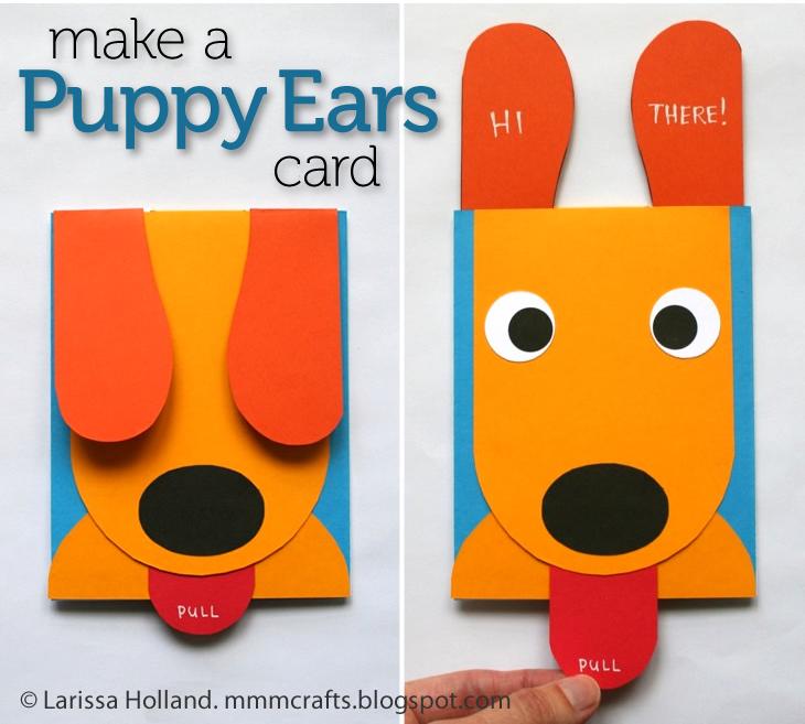 Mmmcrafts Make A Puppy Ears Card Craft Camp