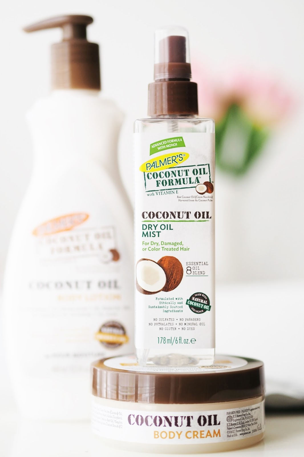 Palmer's coconut oil formula review hair body lotion moisturiser