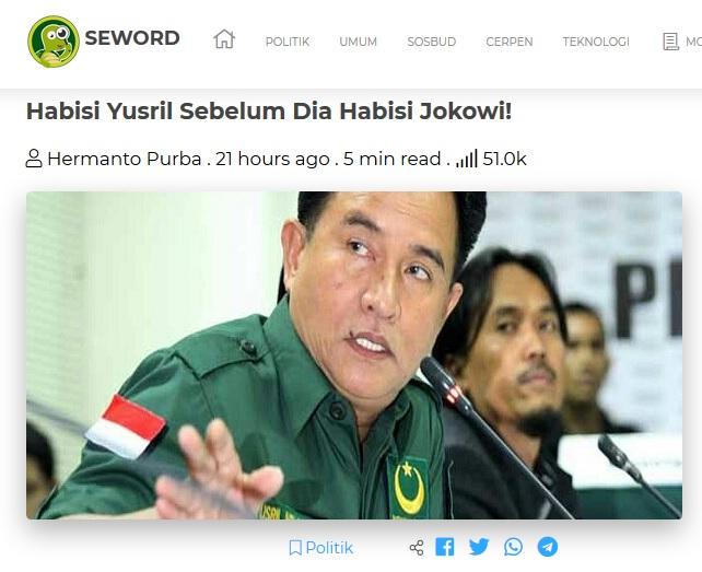 habisi yusril sebelum dia habisi Jokowi