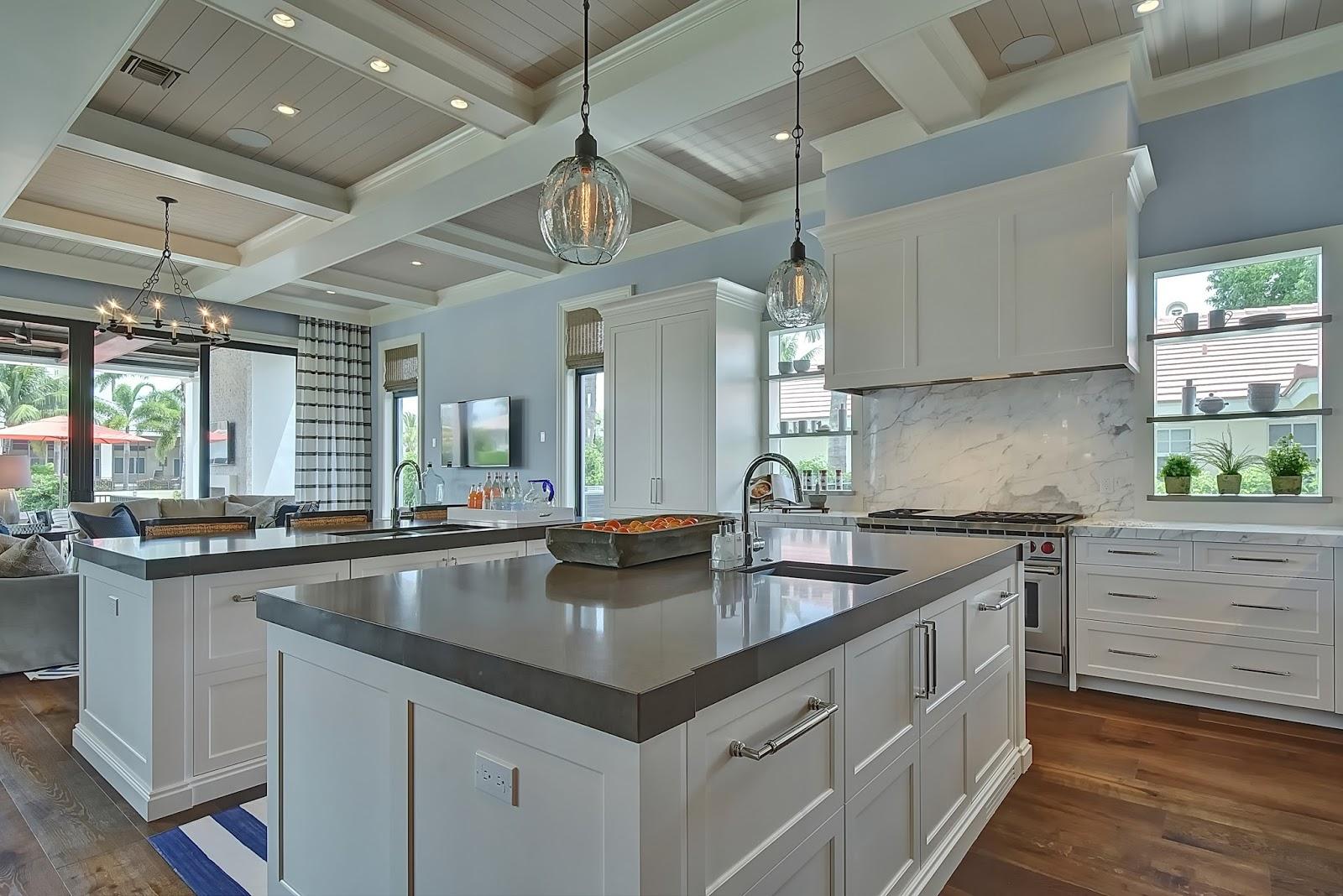 Custom Cabinets Boca Raton. White Kitchen Cabinets Parkland With ...