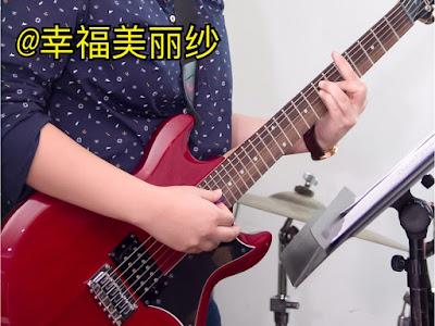 郑明析, 弹电吉他, 音乐