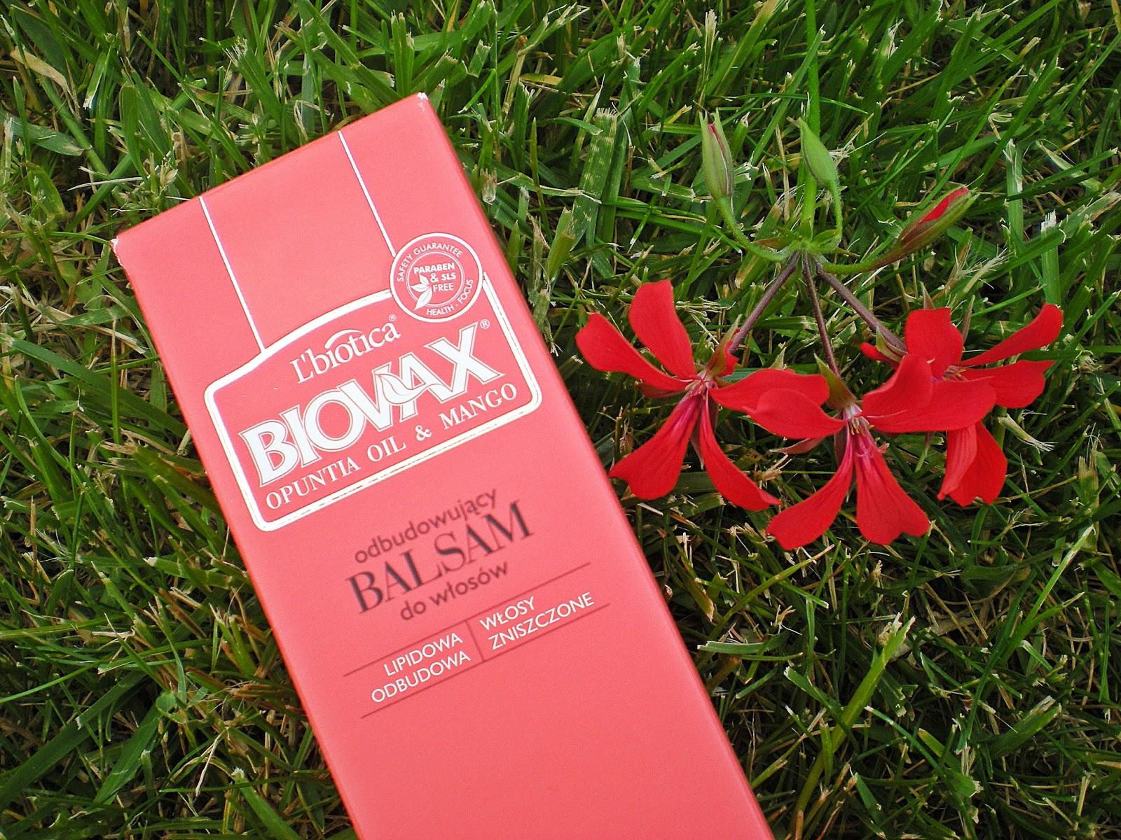 Biovax_Balsam odbudowujący i maska regenerująca: olej z opuncji i mango