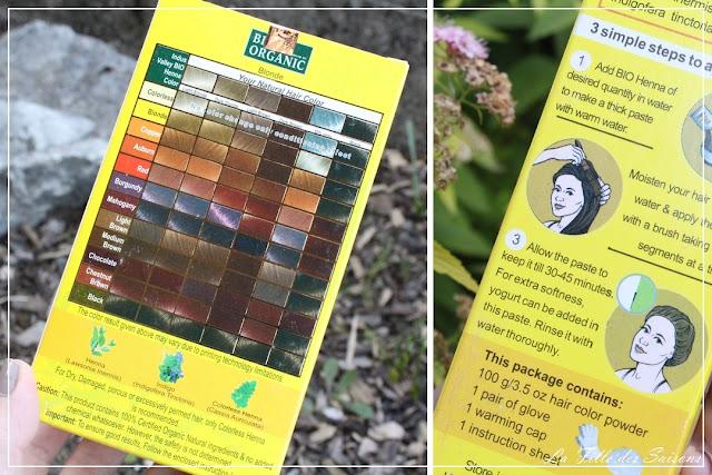 Coloration végétale blond Indus Valley