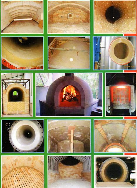 Pekerjaan Pemasangan Bata Tahan Api & Castable pada Boiler Furnace,Kiln,Incinerator,Ducting