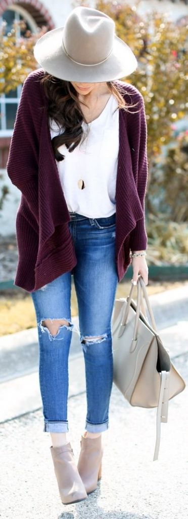 Long Trench Cardigan Coat