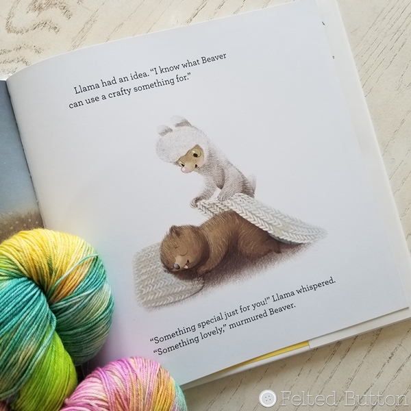 Crafty Llama Book Review by Susan Carlson of Felted Button