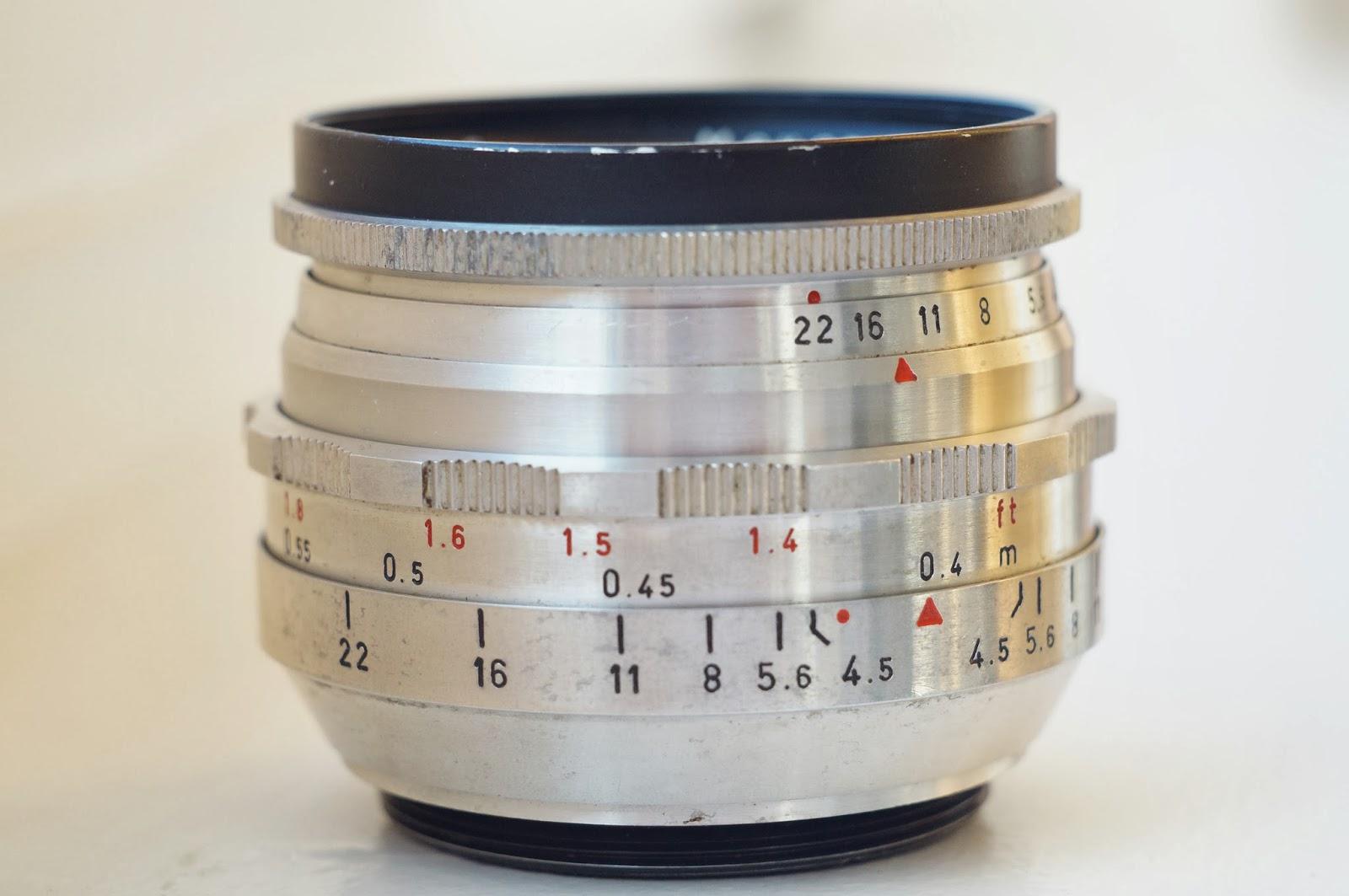 Meyer Görlitz Primagon 35/4.5 M42 sample