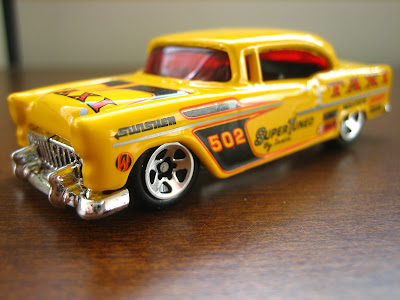 Andreo S Hot Wheels Garage Chevrolet Bel Air 1955 Taxi