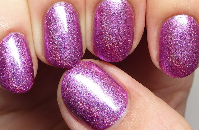 Grace-full Nail Polish Jacaranda Tree