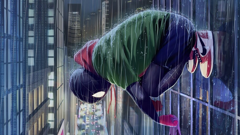 Spider-Man, Miles Morales, Art, 4K, #6.2133