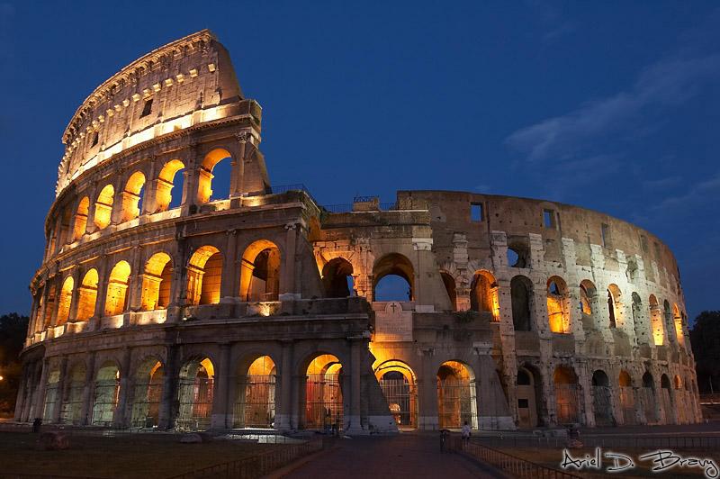Colosseum, Rome   CHENELLE WEN