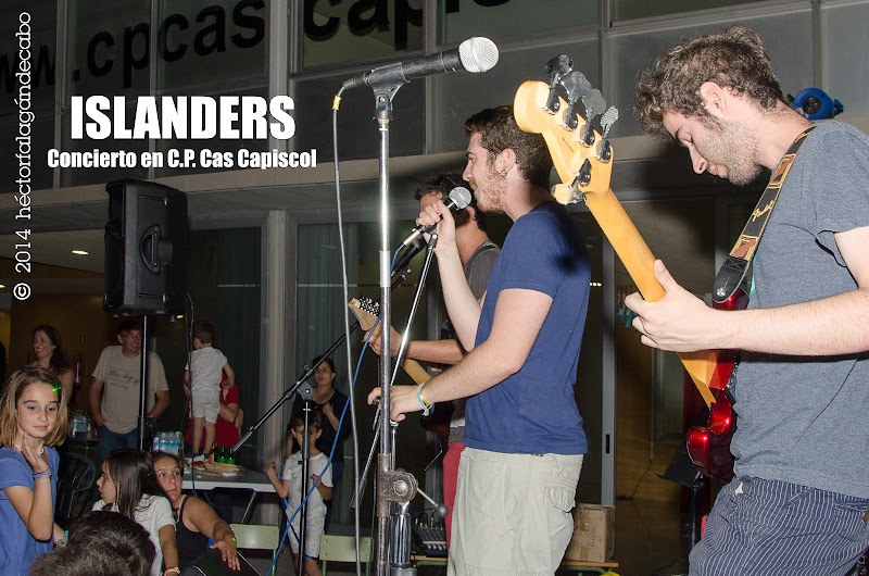 Islanders en concierto en el Colegio Público Cas Capiscol. Héctor Falagán De Cabo | hfilms & photography.