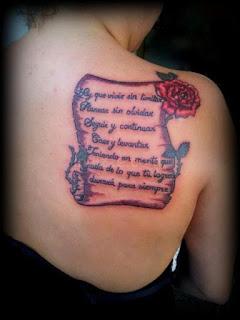 Tatuajes de pergaminos