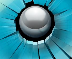 تحميل لعبة تكسير الزجاج سماش هيت Smash Hit للاندرويد والايفون