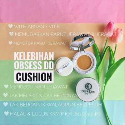 DD CUSHION FOUNDATION BY OBSESS