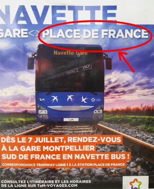 Navette Gare Sud-de-France