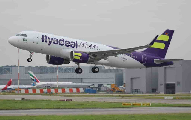 FLYADEAL LAUNCH ITS FIRST FLIGHT FROM JEDDAH TO RIYADH