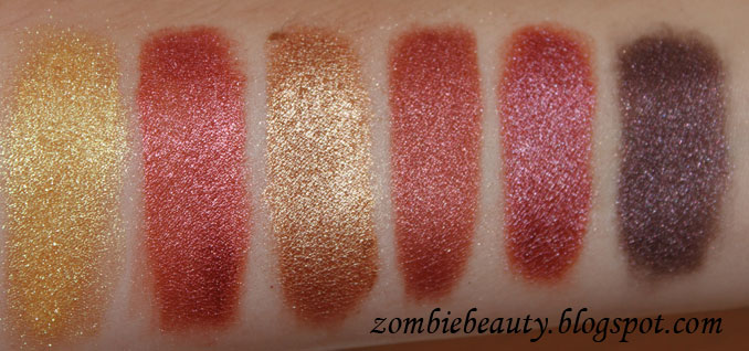... Medusa Makeup Swatches. But Either Way I Think They Would Work Well For Anyone Looking A More Sheered Out