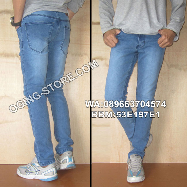 celana-Jeans biruscrap