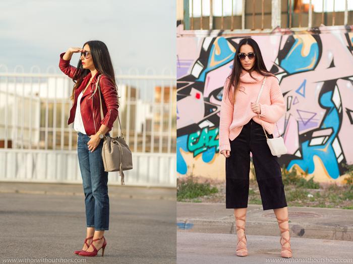 Ideas de looks estilo urbano femenino chic para ir estilosa y con zapatos bonitos