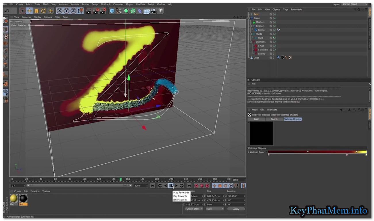 NextLimit RealFlow Cinema 4D 2.5.3 Full Key, Phần mềm thiết kế và tạo hiệu ứng như phim Hollywood