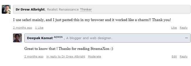 disqus designs for author admin moderator comments