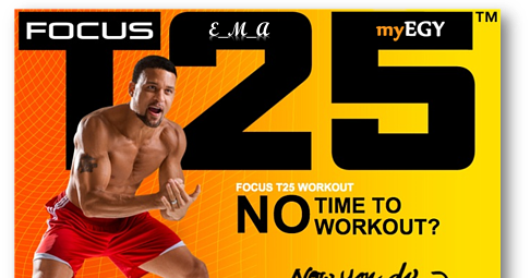 Focus T25 Workout ( Training Videos + PDF ) ~ The Ocean 4