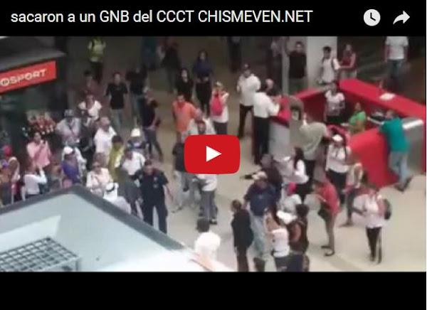 Pueblo bota a gritos a un GNB del CCCT