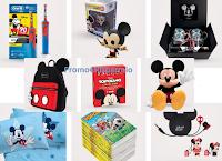 Logo Concorso ''Natale con Disney'': vinci 90 premi Topolino e 1 viaggio a New York