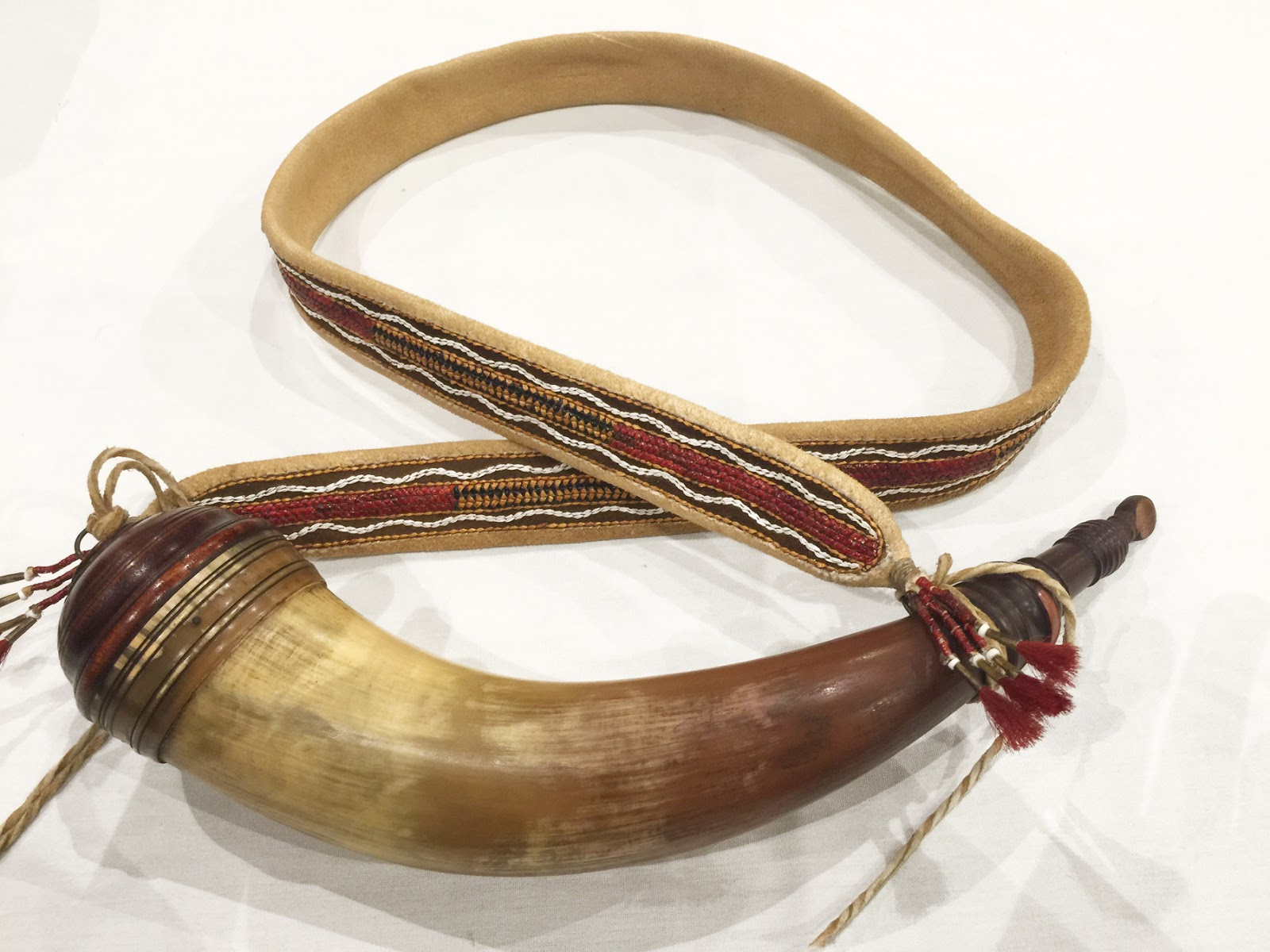 how to make a powder horn