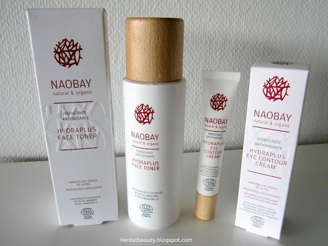 NAOBAY Hydraplus Face Toner und Eye Contour Cream