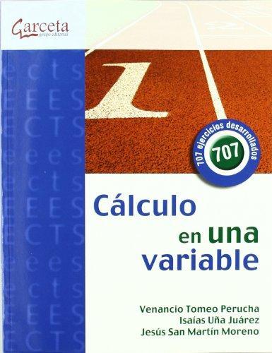 Cálculo en una variable – Venancio Tomeo Perucha