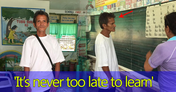 'It's never too late to learn', says a 52-year-old farmer