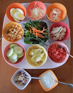 http://theworldaccordingtoeggface.blogspot.com/2013/04/build-your-own-salad-bar-night.html