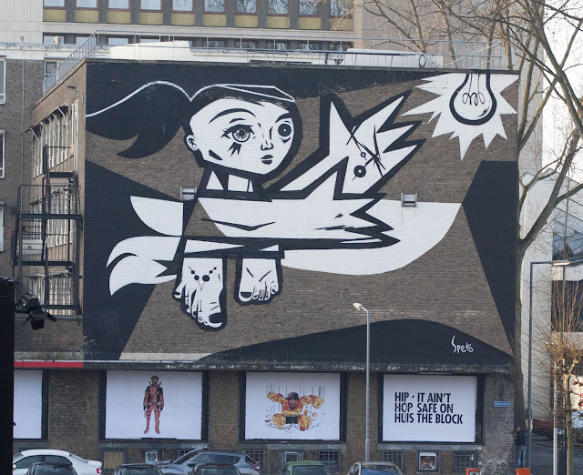 Why Visit Rotterdam in Winter? Street Art in Rotterdam