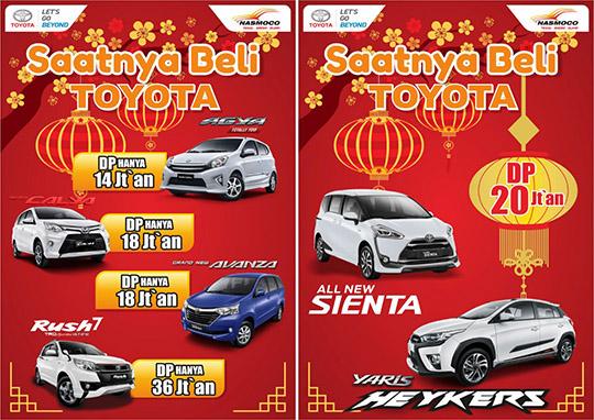 Promo Toyota Tegal 2017